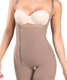 Braless Compression Bodysuit Boyshort - 435