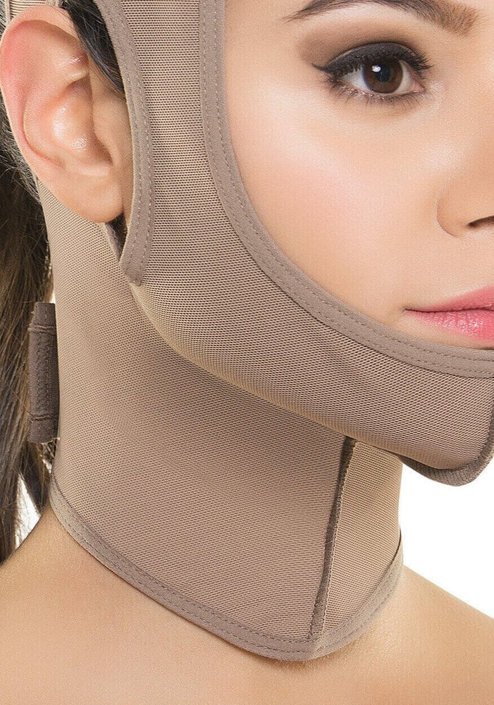 Post Surgery Compression Face Wrap - 356