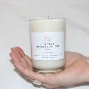 Soy Candle, Nourish - Lily of the Valley