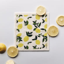 Load image into Gallery viewer, Sponge Cloth - Citrus Lemon