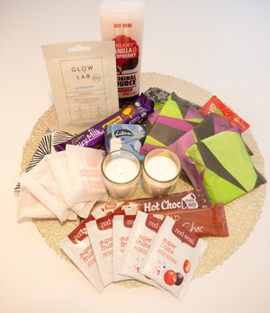Time to Relax Period Care Package - Tickle me Pink NZ