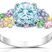 "Thomas Kinkade ""Colors Of Inspiration"" Women's Floral Ring"
