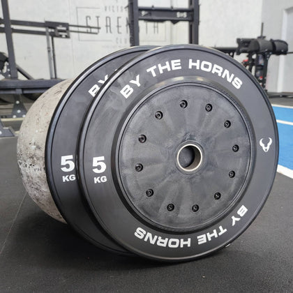 5KG Competition Bumper Plate (Sold In Pairs)