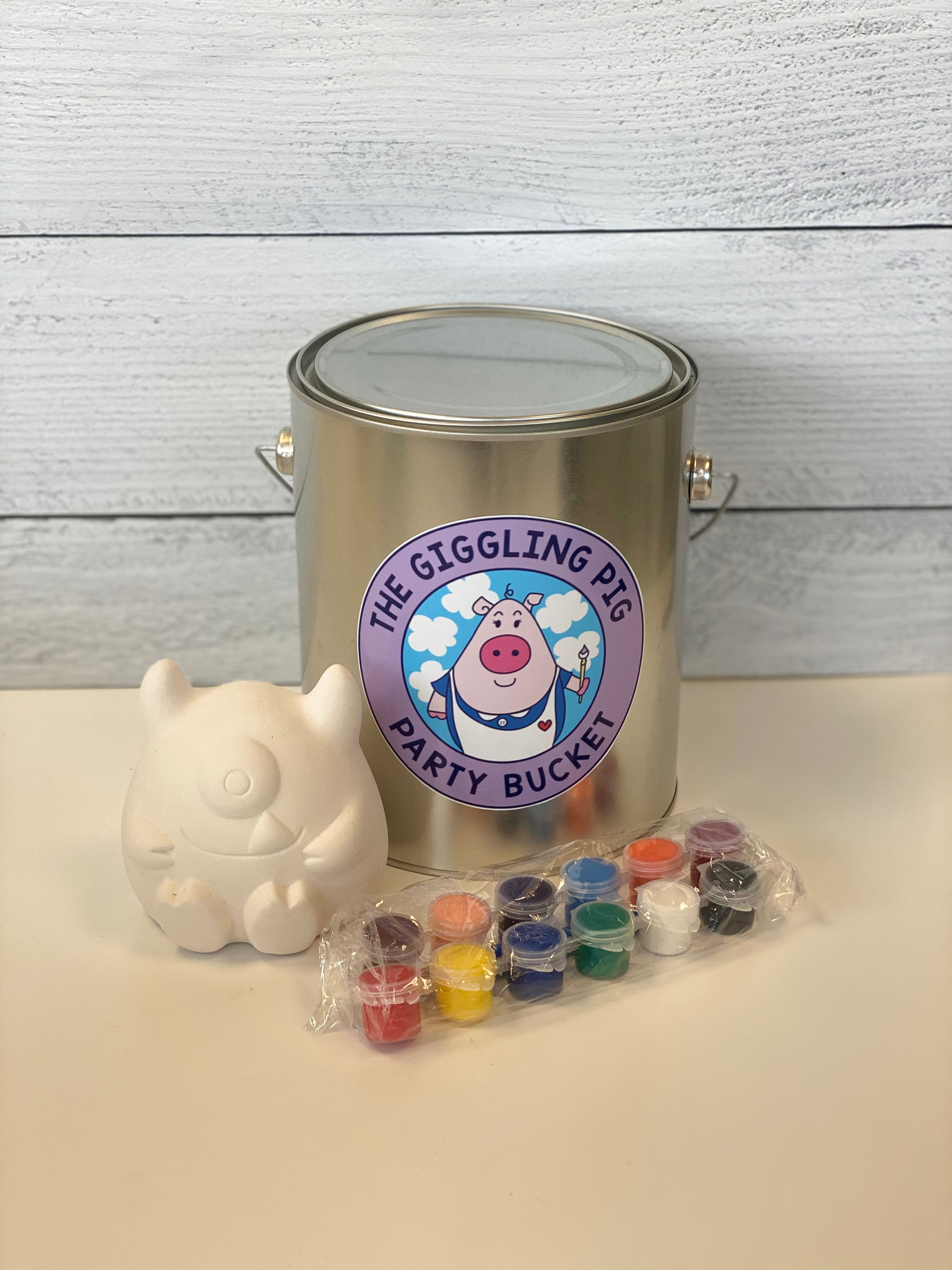 Ceramic Monster Party Buckets