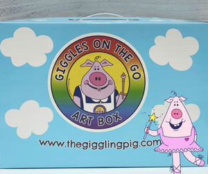 Giggles the Ballerina Art Box