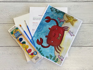 Beach Days Watercolor Art Box
