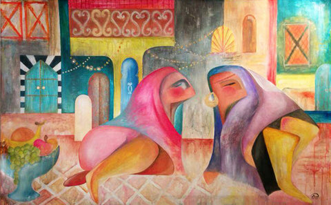 Traditional Gossip - Kufaishi Art