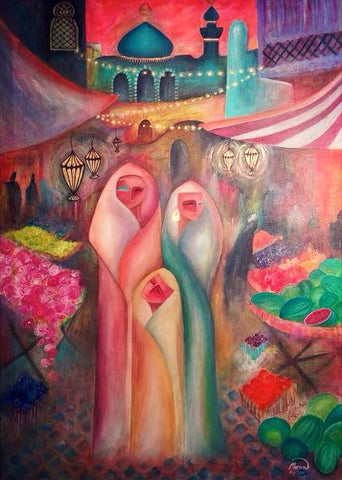 The Market - Kufaishi Art