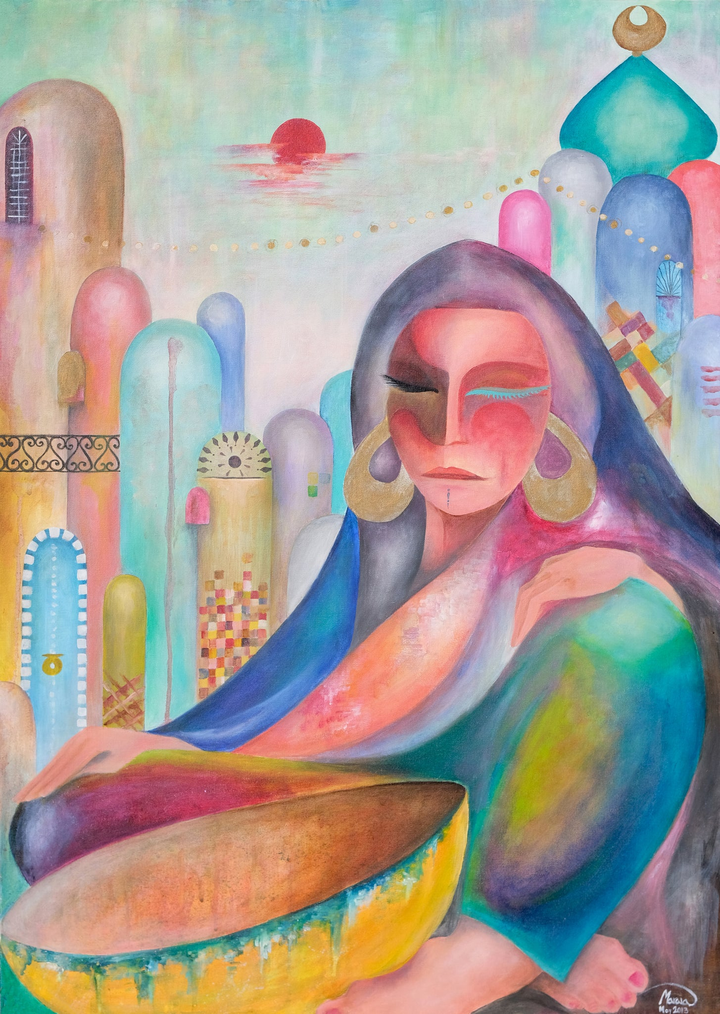 City Woman - Kufaishi Art