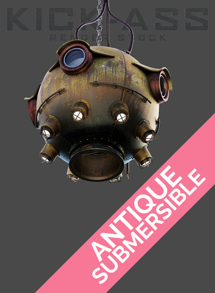 ANTIQUE SUBMERSIBLE