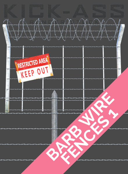 BARB WIRE FENCES 1