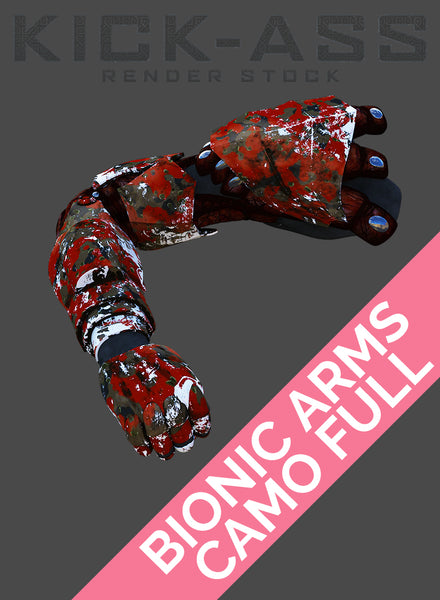 BIONIC ARM CAMO FULL
