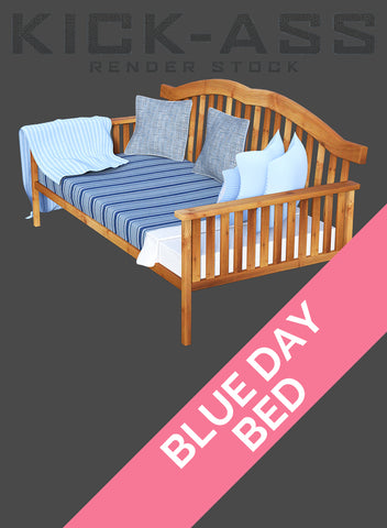 BLUE DAY BED
