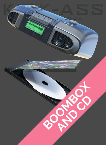 BOOMBOX AND CD