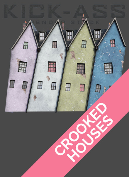 CROOKED HOUSES