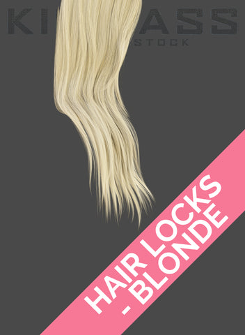 HAIR LOCKS - BLONDE