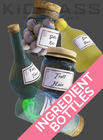 INGREDIENT BOTTLES