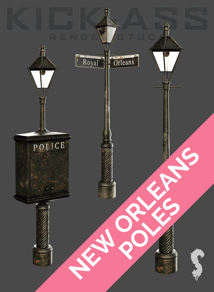 NEW ORLEANS POLES