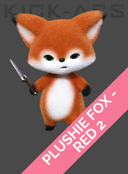 PLUSHIE FOX - RED 2