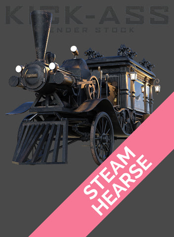 STEAM HEARSE