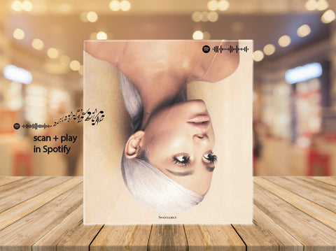 Custom Acrylic Spotify Photo (scan + play) - Pictical™