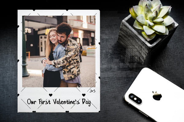 Valentine's Day Photo Tile - Personalized Acrylic Photo - Pictical™