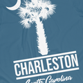 Palmetto and Moon Charleston T-Shirt - Palmetto Blended