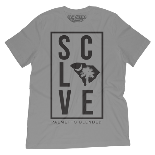 SC Love T-Shirt - Palmetto Blended