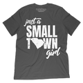 Just a Small Town Girl SC T-Shirt - Palmetto Blended