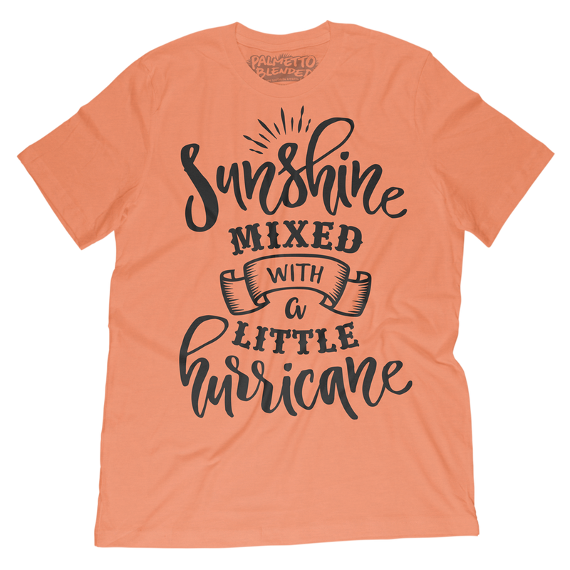 Sunshine Mixed with Hurricane T-Shirt - Palmetto Blended