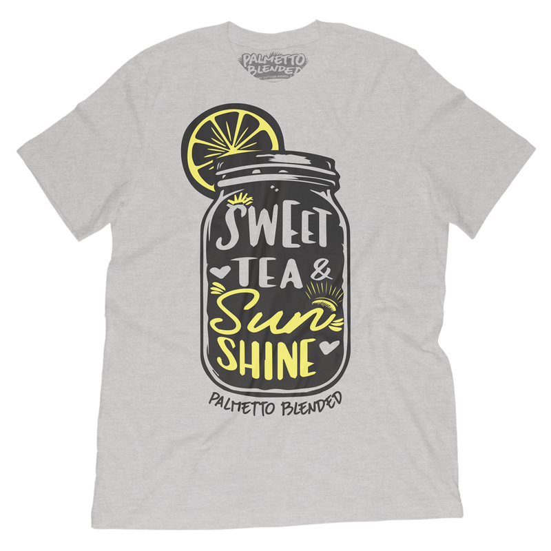 Sweet Tea and Sunshine T-Shirt - Palmetto Blended