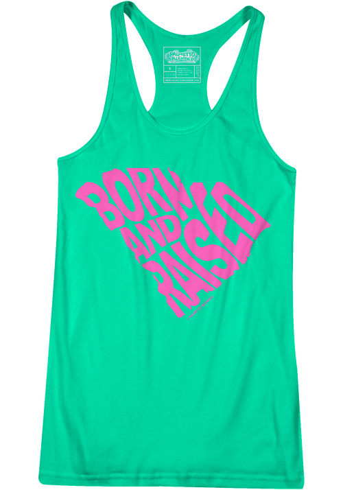 Born and Raised - Mint / Pink - Palmetto Blended