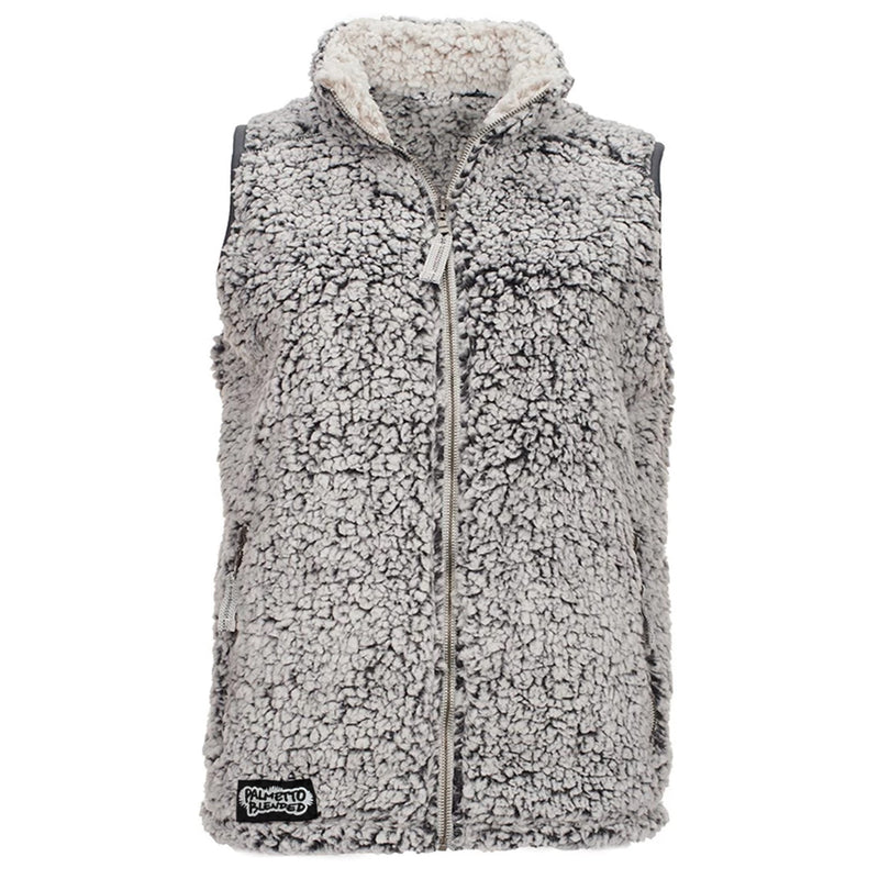 Sherpa Vest Black Heather - Palmetto Blended