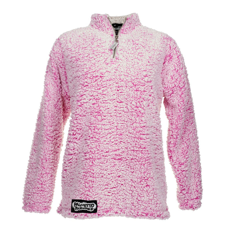 Longsleeve Sherpa Pink Magenta - Palmetto Blended