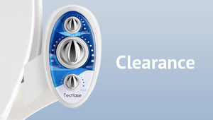 clearance for bidet attachment