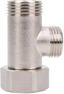 7/8 Brass Adapter for toilet bidet attachment -1