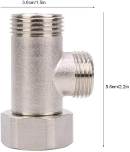 7/8 Brass Adapter for toilet bidet attachment -9