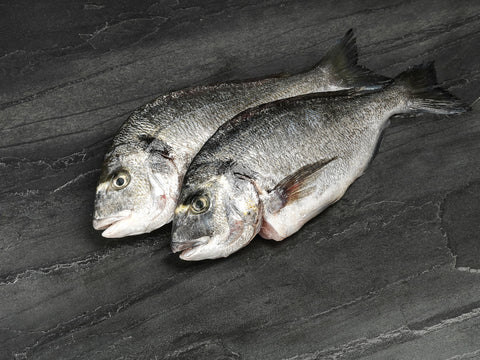 2 x Whole Seabream 300-400gm