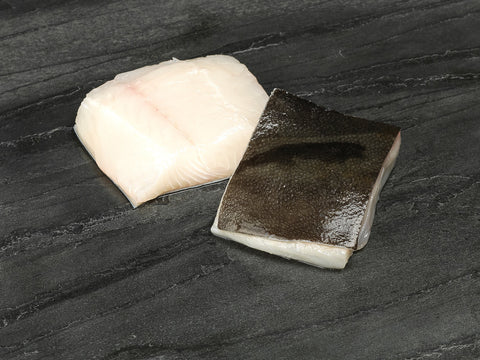 2 x Norwegian Halibut Supremes 110-140gm