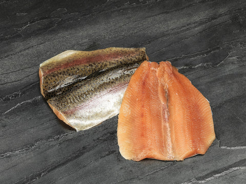 2 x Trout Butterfly Fillets 140-170gm