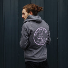 Load image into Gallery viewer, Will I Ever Be Me Zip Hoodie (Black)