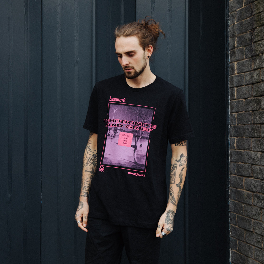 Rhodonite And Grief T-Shirt (Black)