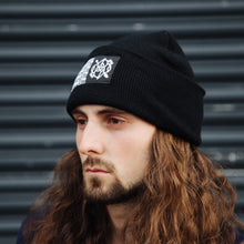 Load image into Gallery viewer, Tile Beanie (Black)