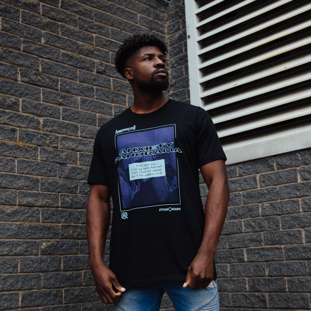 Anxiety Panorama T-Shirt (Black)