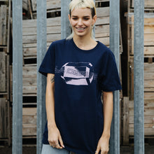 Load image into Gallery viewer, Pink Jewel T-Shirt (Navy)