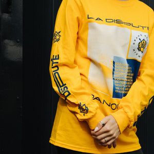 Tracklist Long Sleeve (Gold)