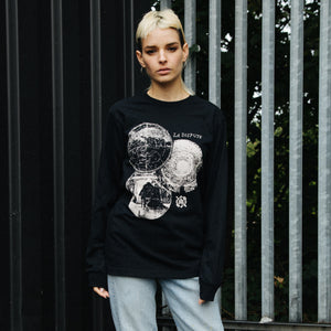 Orbs Long Sleeve (Black)
