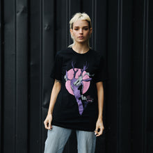 Load image into Gallery viewer, Fulton St Deer T-Shirt (Black)