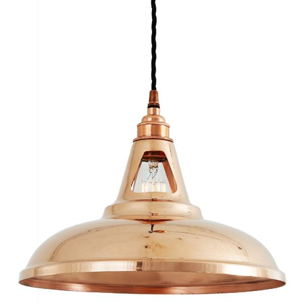 Minsk industrial 305 copper pendant light modernclassic minsk industrial 305 copper pendant light aloadofball