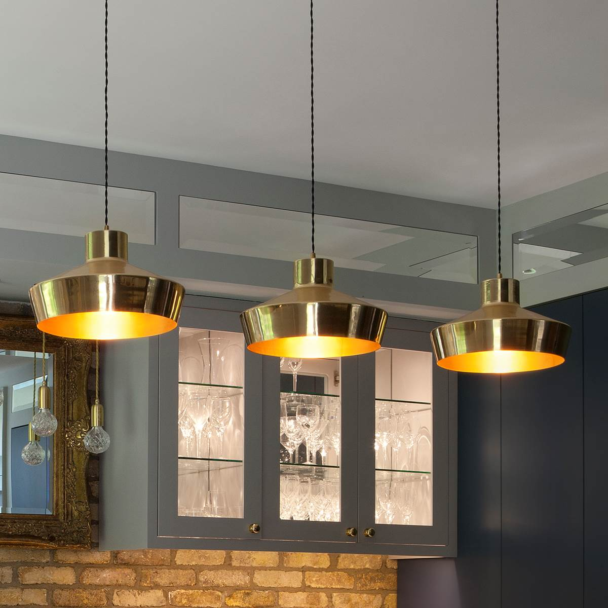Splendor Brass Pendant Light Modernclassic